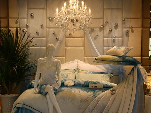水星家纺专卖店效果图,形象图,实拍图,橱窗陈列,水星